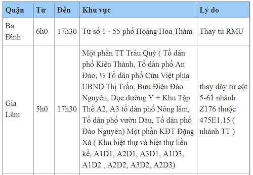 lich cat dien ha noi ngay chu nhat (26/5/2013) - 1
