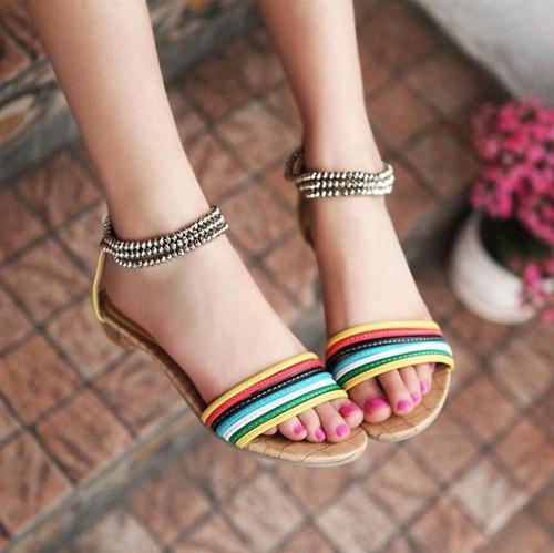sandal cho mua di bien - 12