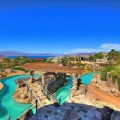 Nhà đẹp - Biệt thự công viên nước giữa lòng sa mạc