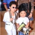 Psy nhí trong vòng vây fan nhí Việt