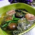 Bếp Eva - Lạ miệng canh cải khô cật heo
