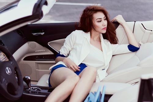 ngan khanh sexy khoe chan thon cuc nuot - 6