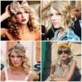 Thời trang - BST bờm tóc siêu dễ thương của Taylor Swift