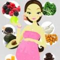 Bà bầu - Siêu thực phẩm cho mẹ bầu
