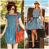 Khảo giá chợ vải may váy hè xinh