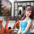 Nhà đẹp - Nhà nhỏ xinh xinh của MC Thùy Linh