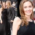 Làng sao - Angelina tái xuất đẹp rạng rỡ bên Brad Pitt