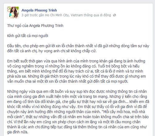 angela phuong trinh bat khoc xin loi khan gia - 1