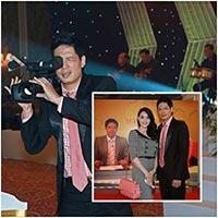 """MC Bình Minh """"trổ tài"""" quay phim"""