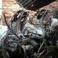 Tin tức - Hà Nội: Hỏa hoạn thiêu rụi 32 xe máy ở khu tập thể