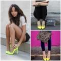 Thời trang - 'Đánh cắp' mọi ánh nhìn với giày vàng neon