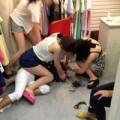 Tin tức - Nữ khách hàng bị cắt tóc vì trộm quần áo