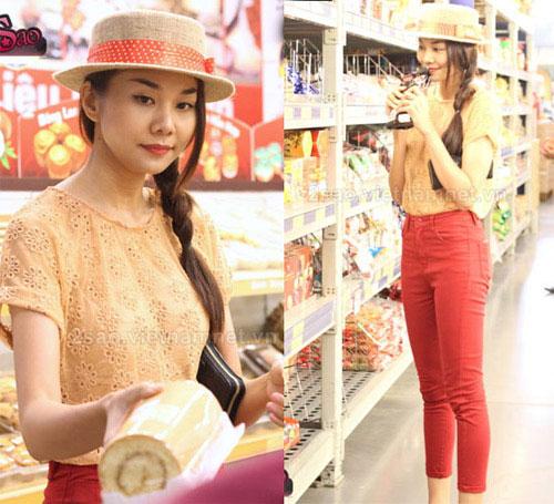 Cùng sao Việt chọn mũ cho chuyến du lịch hè - 11