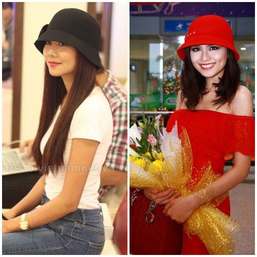 Cùng sao Việt chọn mũ cho chuyến du lịch hè - 16