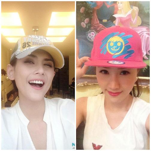 Cùng sao Việt chọn mũ cho chuyến du lịch hè - 19