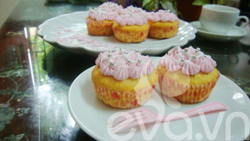 cupcake sua chua de thuong mung sinh nhat - 11