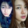 Làm đẹp - Mỹ nhân xứ Hàn ấn tượng khoe mặt mộc