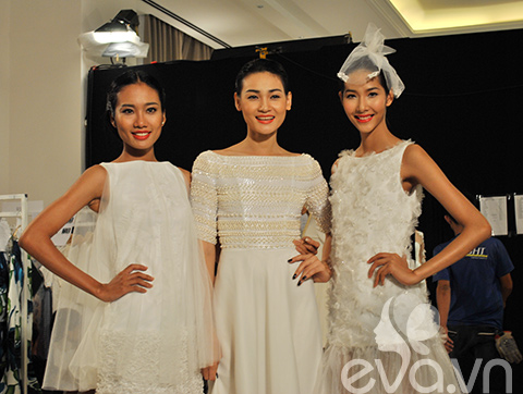 dan mau vietnam next top model do chan dai - 4