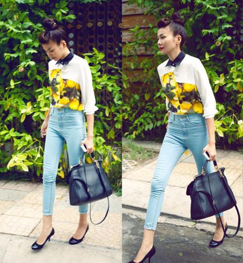 dien quan jeans 'chat' nhu thanh hang - 4