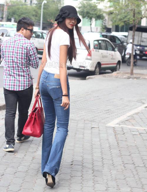 dien quan jeans 'chat' nhu thanh hang - 11