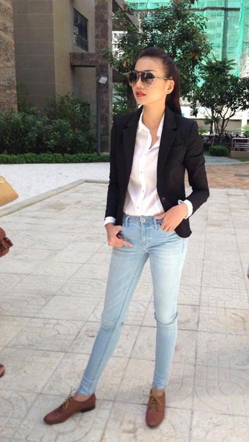 dien quan jeans 'chat' nhu thanh hang - 2