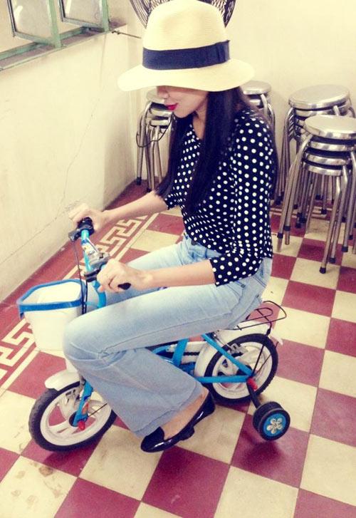 dien quan jeans 'chat' nhu thanh hang - 10