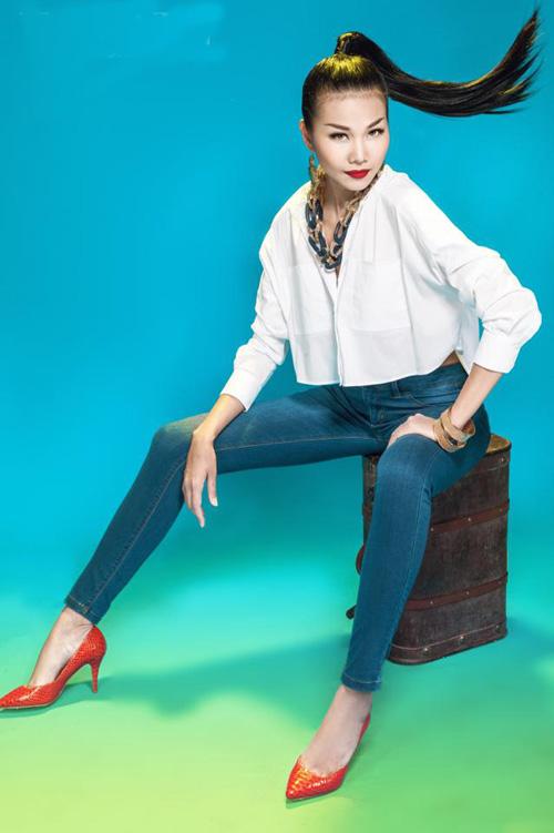 dien quan jeans 'chat' nhu thanh hang - 3