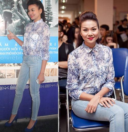 dien quan jeans 'chat' nhu thanh hang - 5