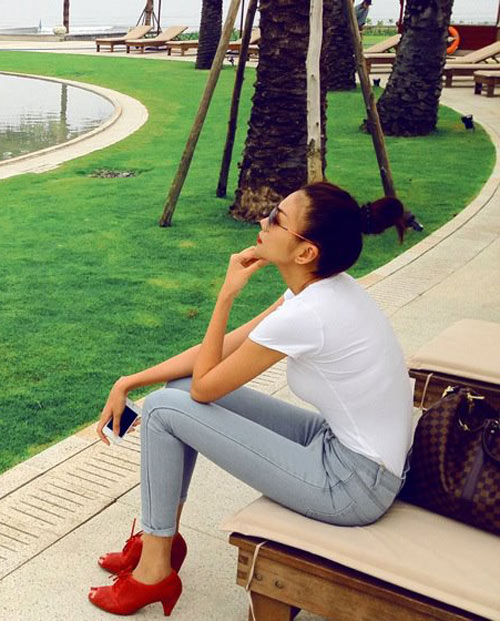 dien quan jeans 'chat' nhu thanh hang - 6