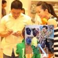 Làng sao - Bạn trai dẫn Kim Hiền và bé Sonic đi mua sắm