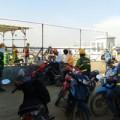 Tin tức - Cháy ở sân bay Nội Bài, thiêu rụi hàng chục xe máy