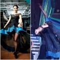 """Làng sao - Khánh Thi """"tung váy"""" bên các vũ công nam"""