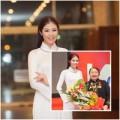 Làng sao - HH Ngọc Hân duyên dáng làm khách mời