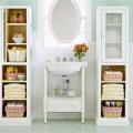 """Nhà đẹp - Mẹo """"chuẩn"""" cho phòng tắm siêu gọn"""