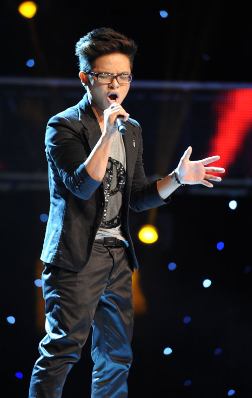 "the voice: gia dinh ""su tu"" kim loan bung no - 3"