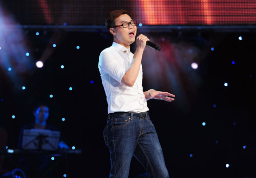"the voice: gia dinh ""su tu"" kim loan bung no - 4"