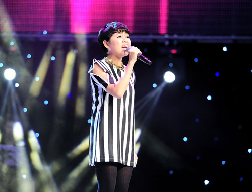 "the voice: gia dinh ""su tu"" kim loan bung no - 9"