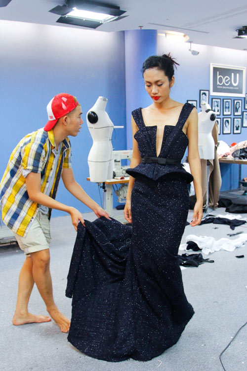 lo top 3 cua project runway - 6