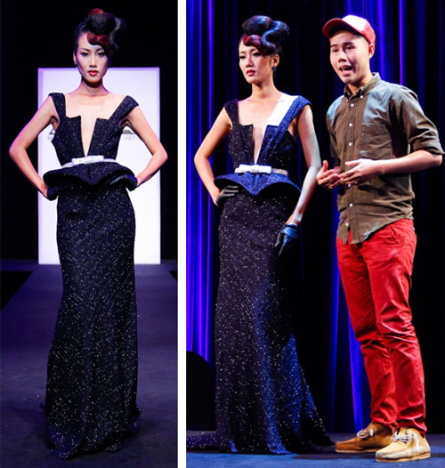 lo top 3 cua project runway - 9