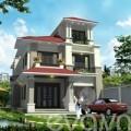 Nhà đẹp - 180m2 biệt thự Hải Dương xây đáng tiền