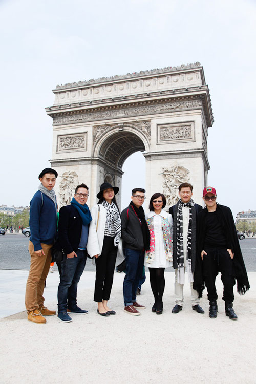 top 3 project runway tham thu paris - 6