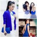 Thời trang - Sao Việt cùng quyền lực 'xanh dương'