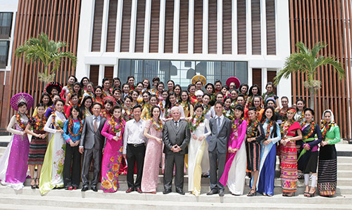 Thí sinh HH các dân tộc đã có mặt tại Hội An-1