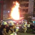 Tin tức - HN: Cháy lớn tại quán karaoke trên phố Xã Đàn