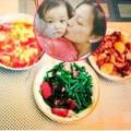Làng sao - Triệu Vy bận rộn chăm sóc chồng con