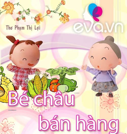 "me ke con nghe: ""be chau ban hang"" - 1"