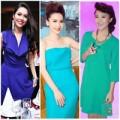 Thời trang - Sao Việt với 3 sắc xanh quyền lực nhất hè