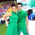 Làng sao - Diva Mỹ Linh nhí nhảnh cùng MC Thanh Bạch