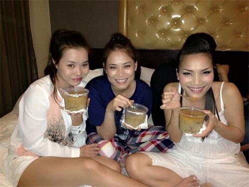 """angela phuong trinh khoe mat """"khong son phan"""" - 12"""