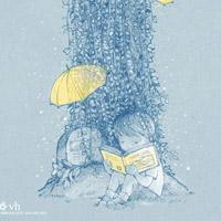 Em sẽ đến cùng cơn mưa